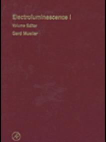 Electroluminescence I: Semiconductors and Semimetals Vol 64