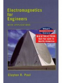 Electromagnetics for Engineering with Applications