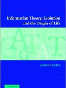 Information Theory, Evolution and the Origin of Life, 2/Ed