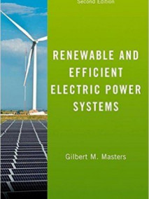 Renewable and Efficient Electric Power Systems